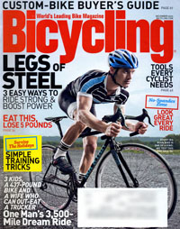 Bicycling magazine, December 2009