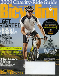 Bicycling Magazine, June 2009