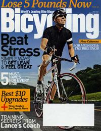 Bicycling magazine, May 2009