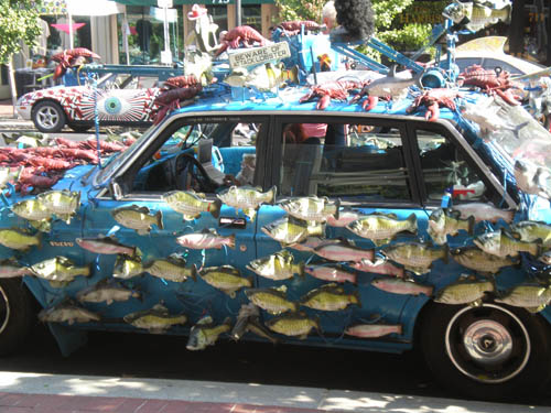 KY art car - Sashimi Tabernacle Choir